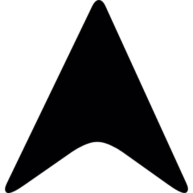 black arrowhead pointing up icons free download rh freepik com arrowhead vector black arrowhead vector logo