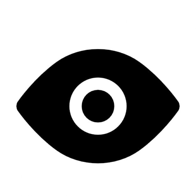 Black eye Icons