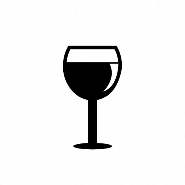 Бокал вина | Бесплатно значок