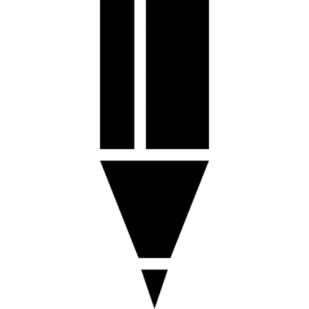 Black pencil tip Icons | Free Download