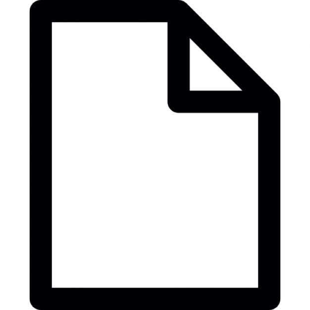Blank document Icons – Blank Document Free