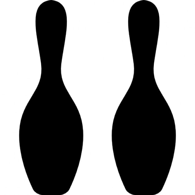 bowling bowls silhouette icons free download