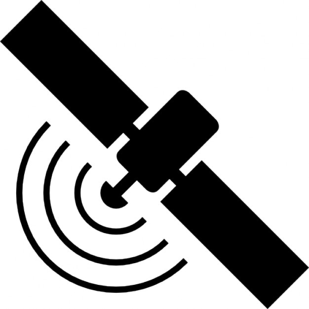 Broadcasting satellite Icons   Free Download