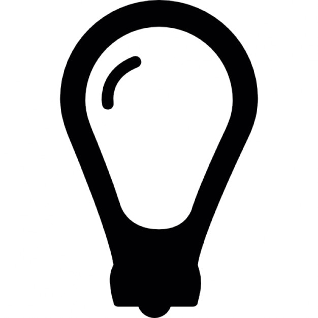 Bulb Light Electrical Icons Free Download