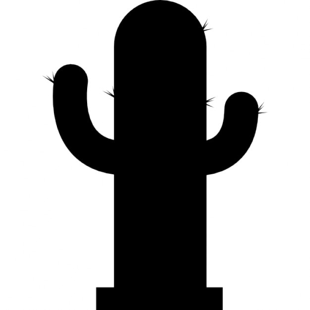 Cactus silhouette Icons | Free Download