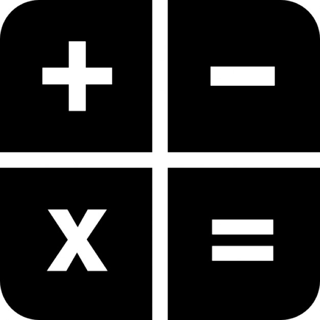 calculator keys icons free download