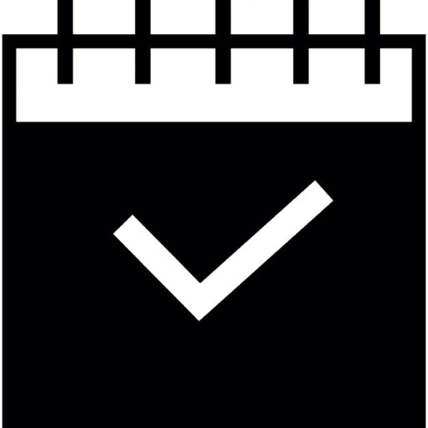 Calendar Icon Ios : Calendar tick ios interface symbol icons free download