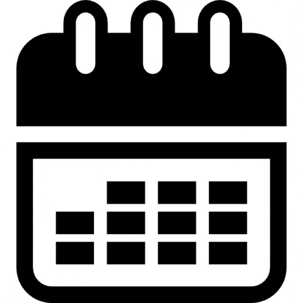 Calendar Tool Interface Symbol For Time Administration And