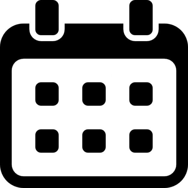 Weekly Calendar Svg : Calendar weekly icons free download