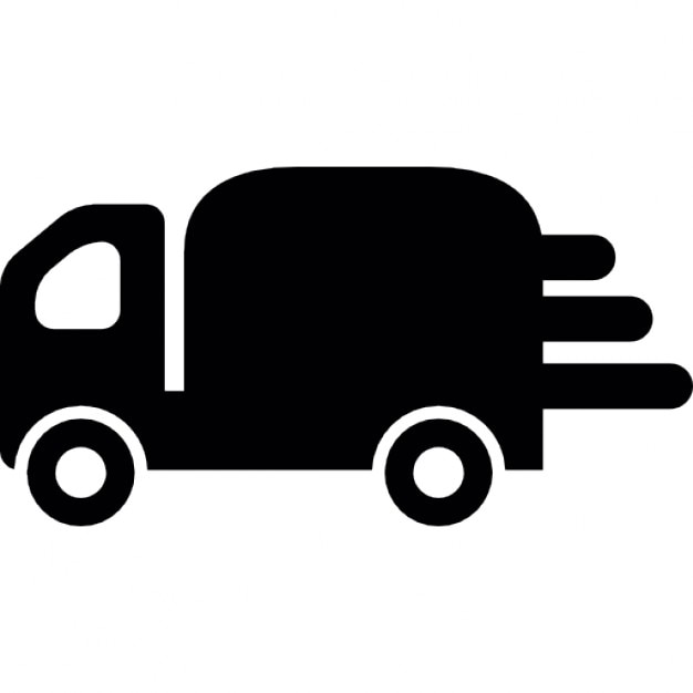 Cargo delivery truck Icons | Free Download