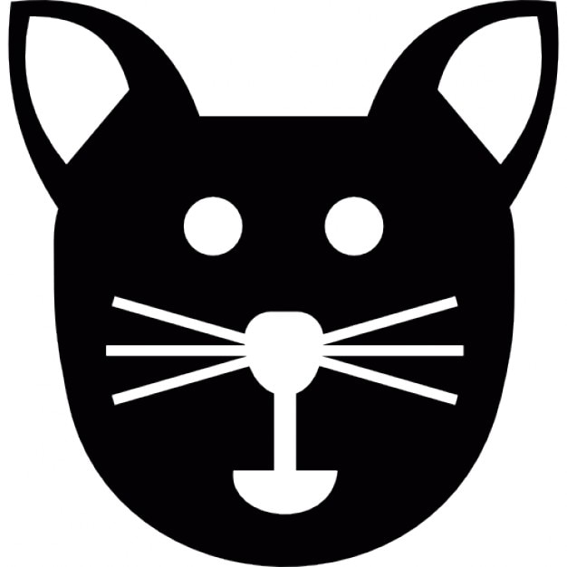 Free Clipart Cat Face