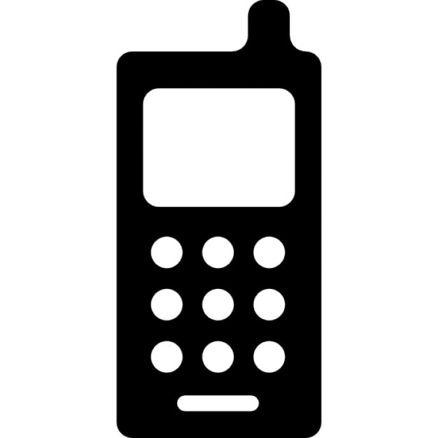 Cellphone with antenna Icons | Free Download