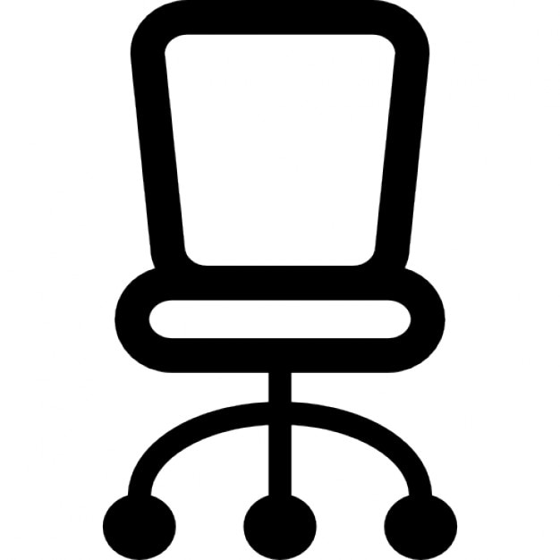 Chair Of Small Size For Office Icons Free Download