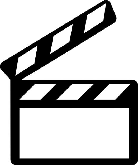 Cinema Slate Icons Free Download