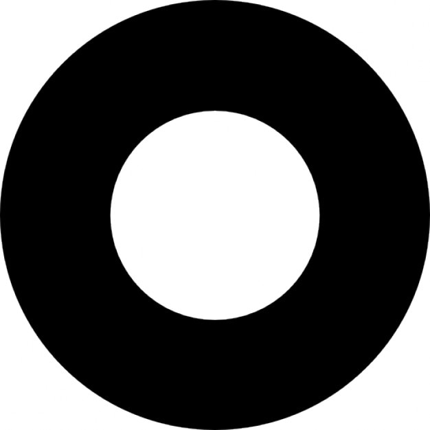 Image result for black thick circle art