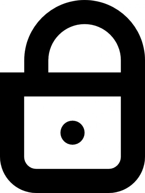 Closed lock Free Icon