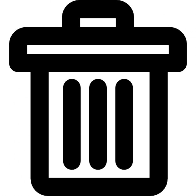 Closed trash can Icons | Free Download