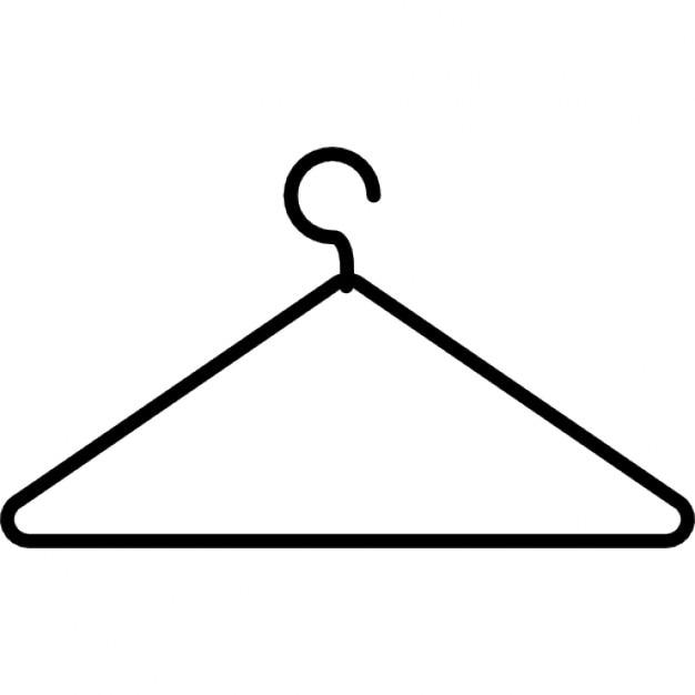Coat Hanger Thin Outline 318 50001 Jpg