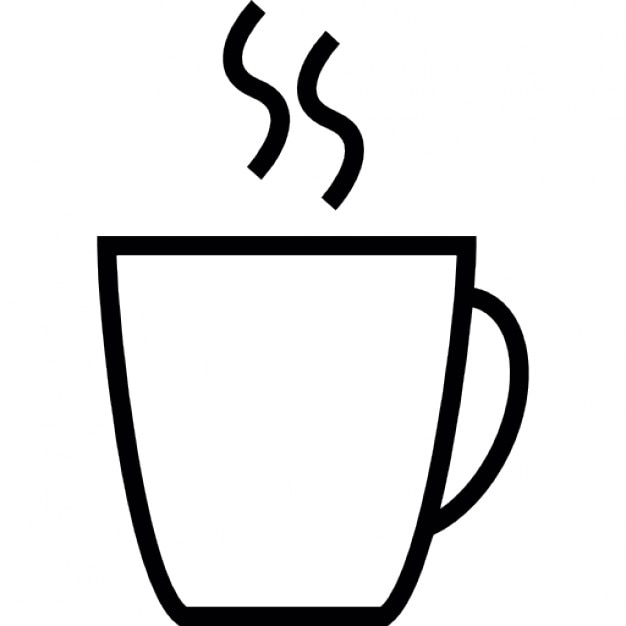 Coffee Cup Shape Ios 7 Interface Symbol Icons Free Download
