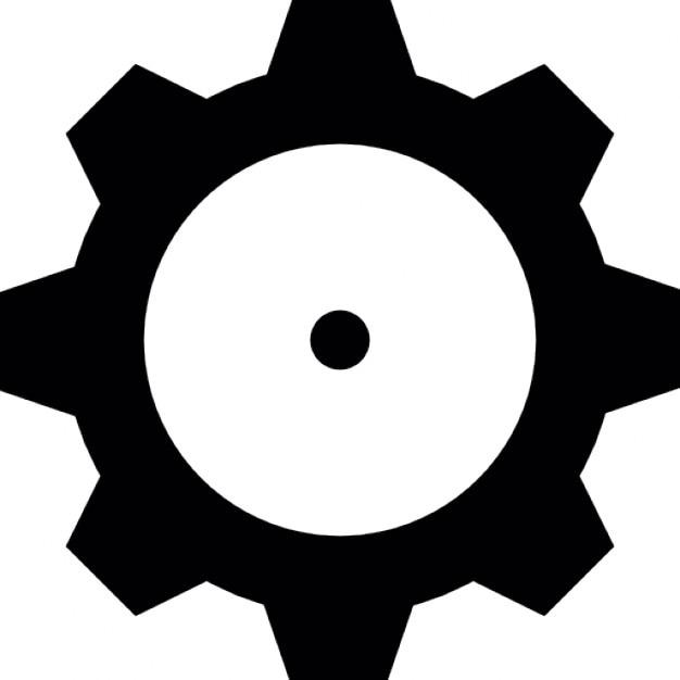Cog Wheel Machine Part Icons Free Download