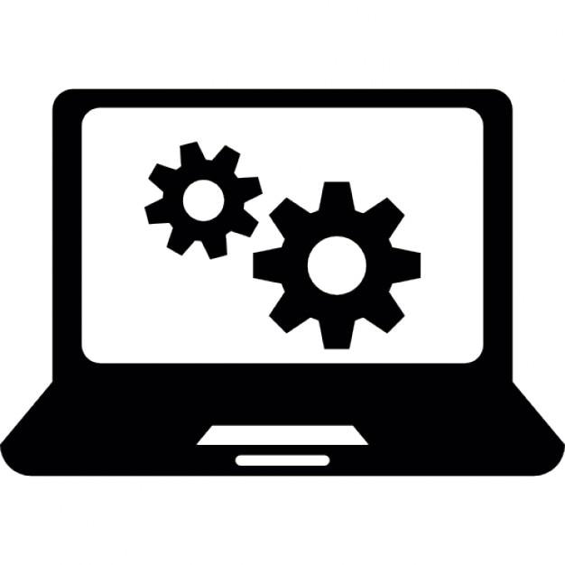Cogwheels laptop wallpaper Icons | Free Download