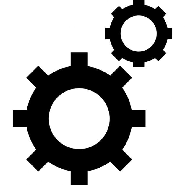 Cogwheels Symbols Icons Free Download
