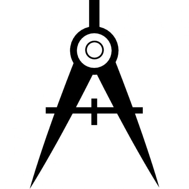 Compass Tool Variant Free Icon