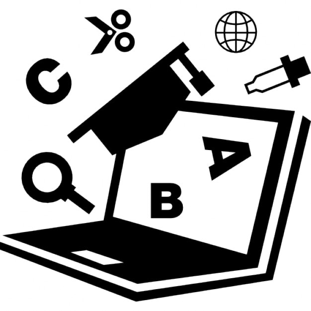 Computer Tool For Education Icons Free Download