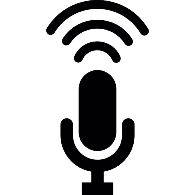 Condenser Microphone Recording Icons Free Download