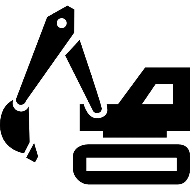 Construction Vehicle Icons Free Download