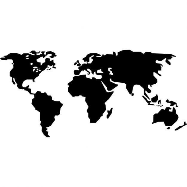 continents of earth icons | free download funnel diagram icon world diagram icon #3