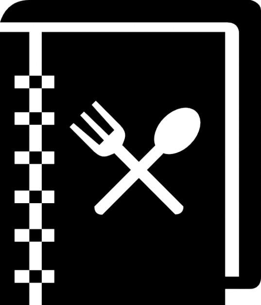 cookbook  recipes book  icons