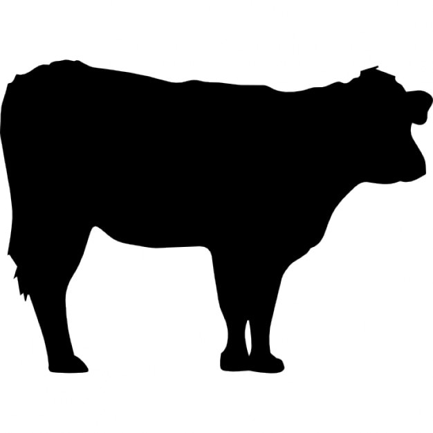 cow silhouette icons free download rh freepik com cowboy silhouette vector cow silhouette vector free download