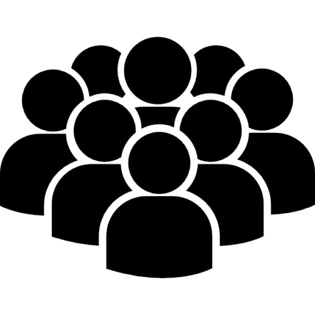 Crowd Of Users Free Icon