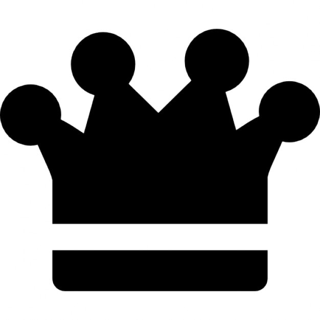 Crown Of King Ios 7 Interface Symbol Icons Free Download