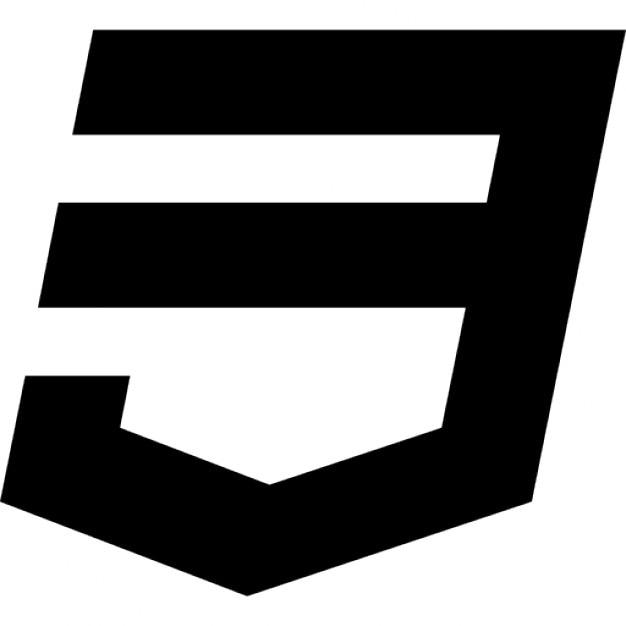 Css 3 logo free icon