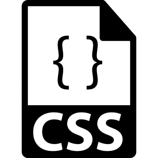 Css file format symbol free icon