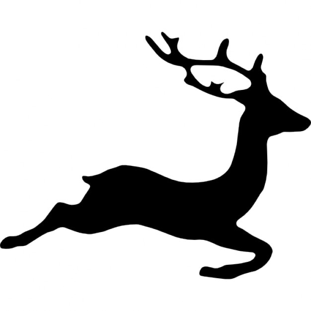 deer shape icons free download