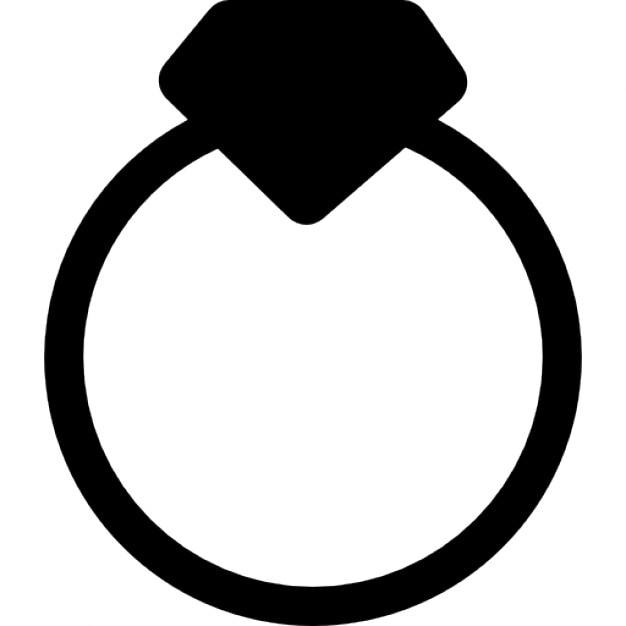 diamond ring vector icon - photo #48