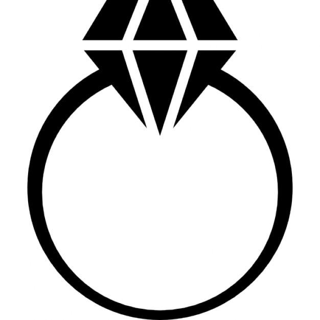 Diamond Ring Vector Free