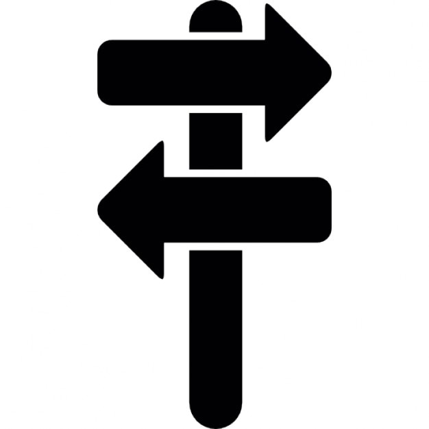 directional arrows road sign icons free download