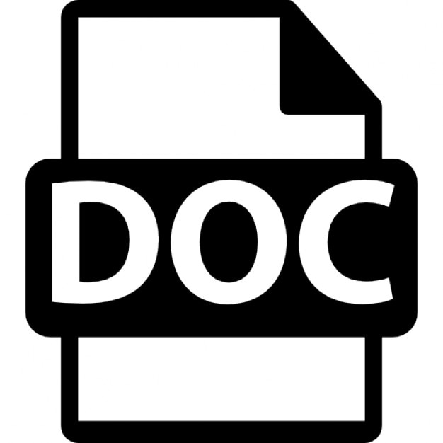 doc file format icons free download