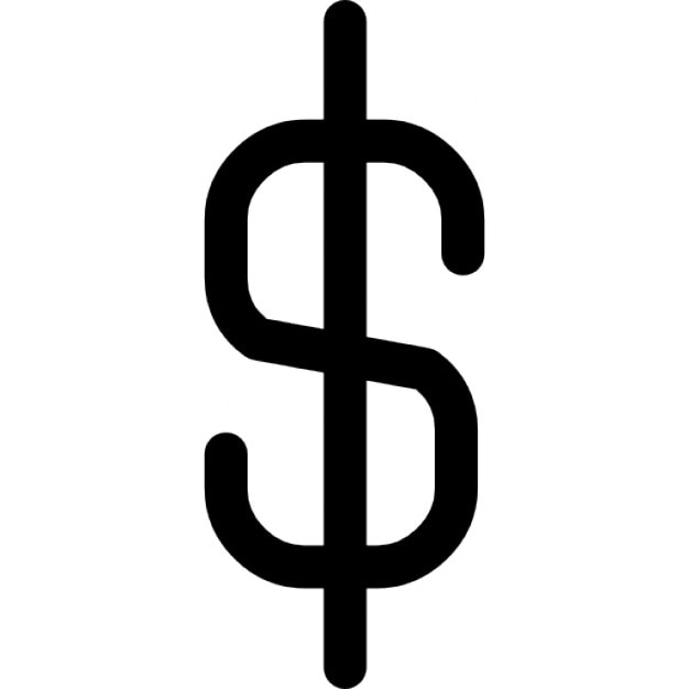 Dollar Currency Symbol Icons Free Download