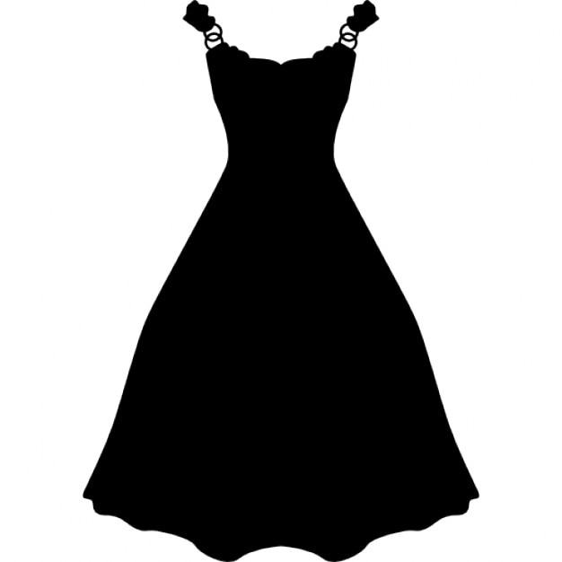 Facebook twitter icons black and white dress