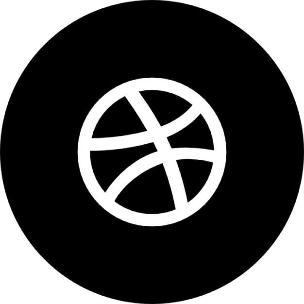 Dribbble Circle Icons