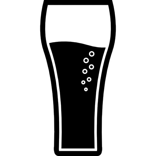 Drink Big Tall Glass With Soda Icons Free Download