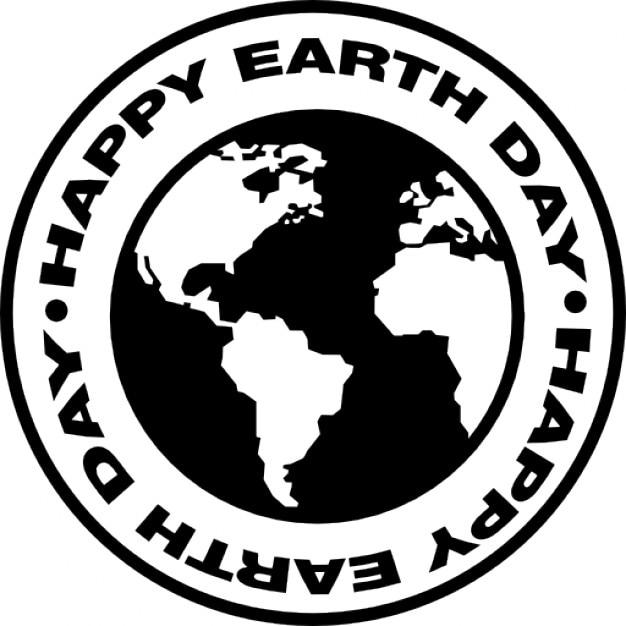 Earth Day Circular Symbol Icons Free Download