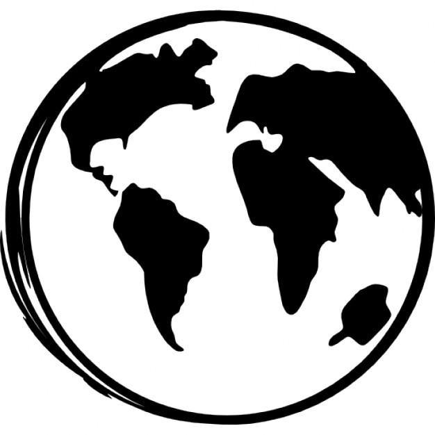 Earth globe sketch icons free download earth globe sketch free icon gumiabroncs Images