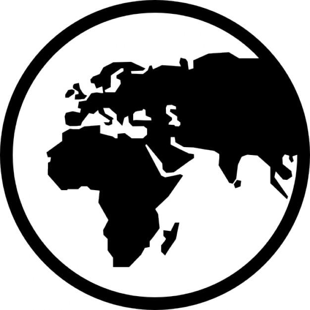 earth globe symbol icons