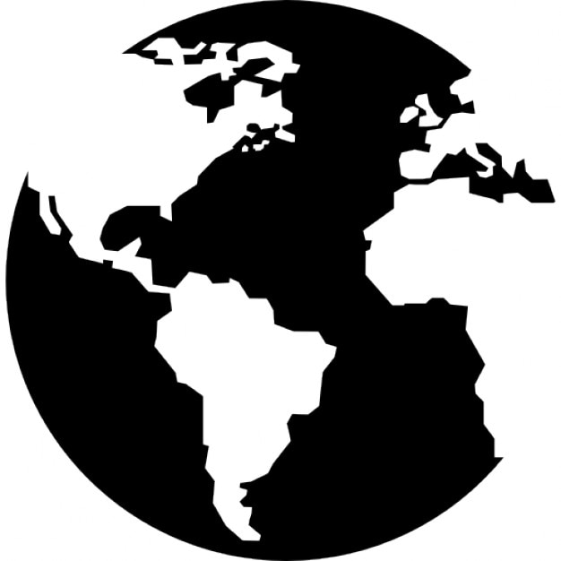 Earth globe with continents maps icons free download earth globe with continents maps free icon gumiabroncs Choice Image